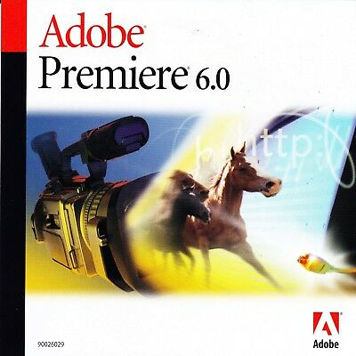 Adobe Premiere 6.0 & Photoshop LE für Windows deutsch Win 7;  8;  XP;  2k
