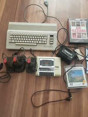 Vintage Commodore 64 Computer, Accessories and Games.