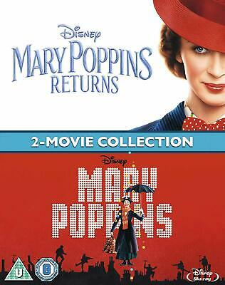 Mary Poppins Returns Doublepack   New (Blu-ray  2019)