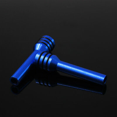 2x Aluminum Alloy Car Truck Interior Door Lock Knob Pull Pin Blue Universal