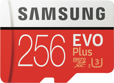 NEW Samsung MB-MC256GA/APC 256GB EvoPlus Micro SDXC Memory Card