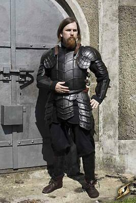 Medieval Full Body Dark Drake Armour Full Suit Larp Cosplay Costume Reenactment