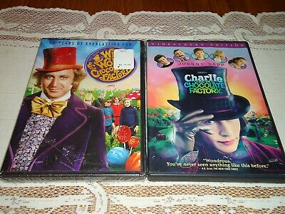 Charlie and the Chocolate Factory and Willy Wonka (2 DVD Widescreen Set)