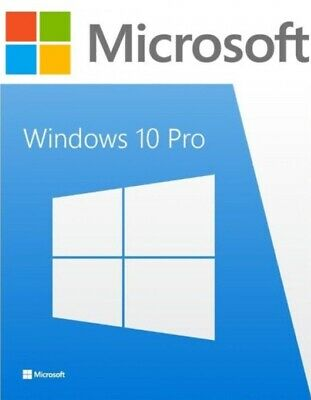 ®Microsoft Windows 10Pro 32/64bit (Lifetime License Key Product Code)