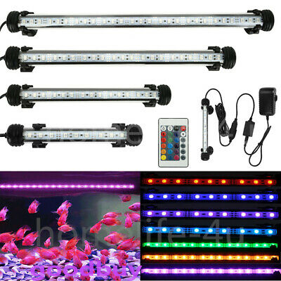 LED Fish Tank Lights Aquarium Aqua SMD Lighting Ornament Underwater Bar Lamp