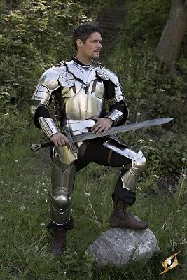Medieval Full Body Gothic Armour Full Suit Larp Cosplay Costume Reenactment