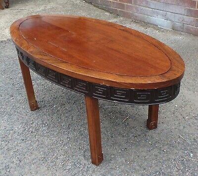 Antique Chinese Republic period solid hongmu rosewood coffee occasional table