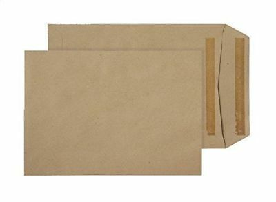 Purely Everyday C5 229 x 162 mm 80 gsm Manilla  Pocket Self Seal Plain Pack(*)