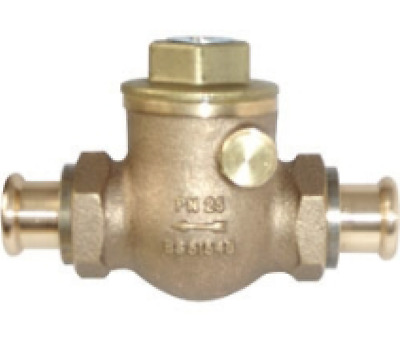 Pegler PS1060A Press-fit Swing Check Valve, XPress Ends For Steel Tube*