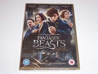 Fantastic Beasts And Where To Find Them - NEW / SEALED GENUINE UK (Region 2) DVD