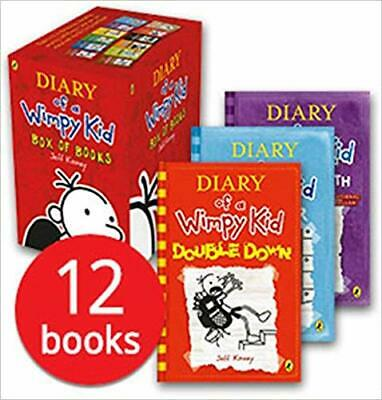BUY 2 GET 1 FREE!! Diary of a Wimpy Kid Box Set Collection - 12 Books NEW 2018!!