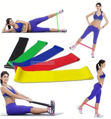 Resistance Bands Heavy Duty Exercise Fitness Loop for Gym Stretch Yoga Training
