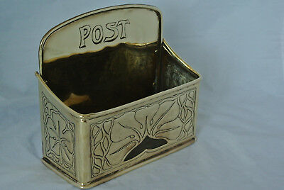 Genuine KSIA Keswick brass letter post rack box