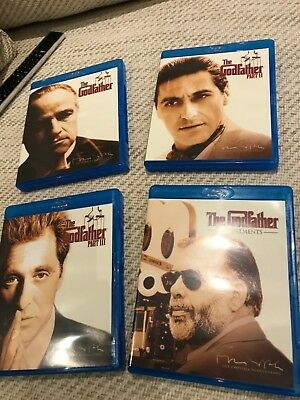 The Godfather Trilogy (Blu-ray, 2008, 3-Disc Set, Box-Set)