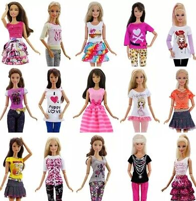 Hot Fashion Handmade High Quality Dress Accessories Clothes For Barbie Doll