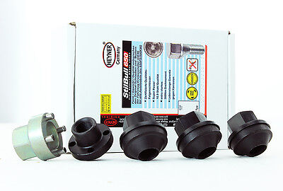 Land Rover Defender all models HEYNER wheel locking nuts M16x1.5 steel wheels