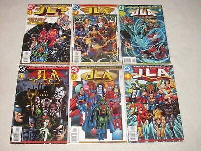 Justice Leagues 1-6 2001 Vf/Nm!!!