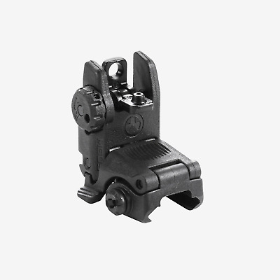 Magpul MBUS Gen 2 MAG248-BLK BUIS Rear Black Flip / Pop Up Backup Sight