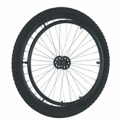 "24"" Mtb (Offroad) Wheelchair Wheel Set (Pair) With Kevlar Guard Protection Tyre"
