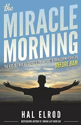 The Miracle Morning  (ExLib) by Hal Elrod