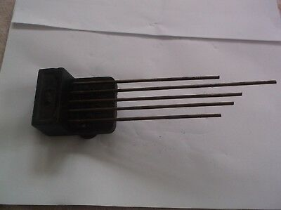5 Fork Chimes  From An Old 4X4 British Mantle Clock   Ref K 13