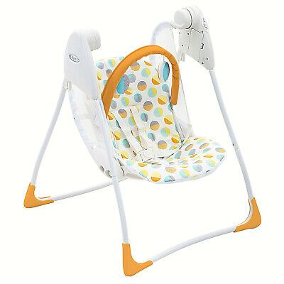 New Graco Baby Delight Swing With 2 Swing Speeds Suitable From Birth