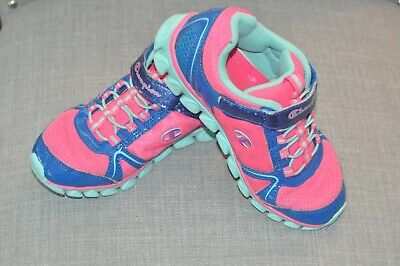 6423c8d5a Champion Toddler Girls Shoes Sneaker Blue Pink Memory Foam 13 PreOwned