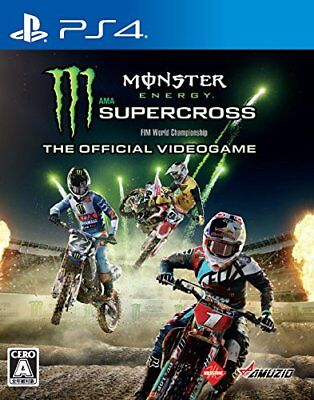 NEW PS4 Monster Energy Supercross The Official Videogame JAPAN PlayStation 4