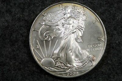Estate Find 2009 - American Silver Eagle!!! #H4810