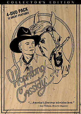 HOPALONG CASSIDY Collectors Edition Volume One (DVD, 2007, 4-Disc Set)