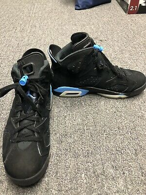 59baa2893be MEN'S NIKE AIR Jordan 6 VI Retro UNC Carolina University Size 8.5 ...
