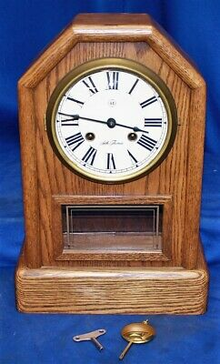 "Seth Thomas ""Country Cottage"" Mantle Clock 1209-000"