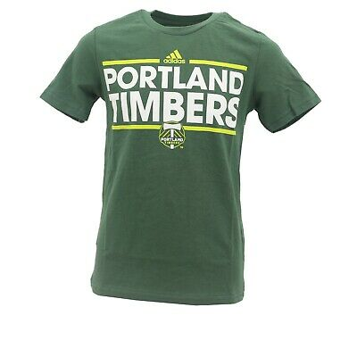 Portland Timbers Official MLS Adidas Apparel Kids Youth Size T-Shirt New Tags