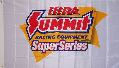 Summit Racing 50th anniversary Banner Huge 8 ft x 3.5 ft NEW