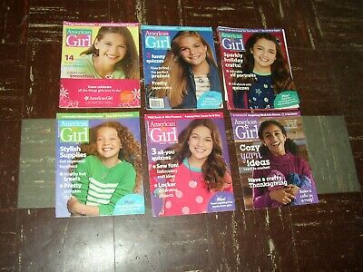 AMERICAN GIRL Magazine  / 1990 - 2018 LOT OF 18 ISSUES w/ STICKERS POSTERS MORE