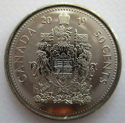 2019 Canada 50¢ Half Dollar Brilliant Uncirculated Coin