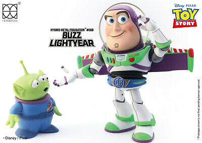 "HEROCROSS HMF #068 Disney Toy Story Buzz Lightyear Hybrid Metal 6"" Action Figure"