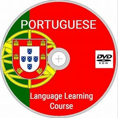 LEARN PORTUGUESE DVD ROM- 5 Manuals (PDF) & Over 39 hours of quality MP3 !