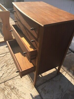 Wooden Chest Of Drawers 1950's