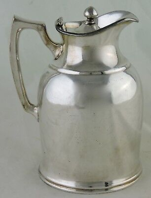 Vintage Stanley Silver Plated or Chrome Insulated Pitcher/Carafe Barrington USA