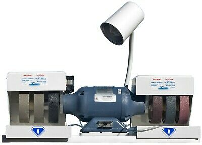 rle DIAMOND PACIFIC GENIE NEW MODEL G-2! GRINDER,SANDER, POLISHER