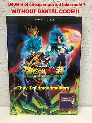 DRAGON BALL SUPER BROLY NEW 2019 Authentic! Beware of Fakes W/O Digital Inserts!