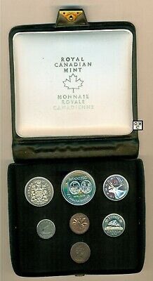 1974 Royal Canadian Mint  Double Penny Uncirculated Coins Set (Ooak)