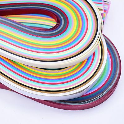 5mm Colorful Art Origami Mixed DIY Paper Art Quilling Paper 260 Stripes Craft