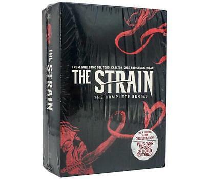 The Strain: The Complete Series (DVD, 14 Disc Set 2017) New Sealed US Seller