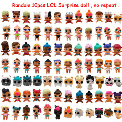10pcs Random Figure Toy Lil Sisters Queen LOL Surprise Doll Pets Series 3/4 Gift