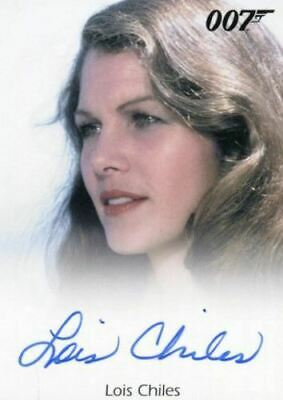 James Bond 50th Anniversary Series Two Lois Chiles Autograph Card