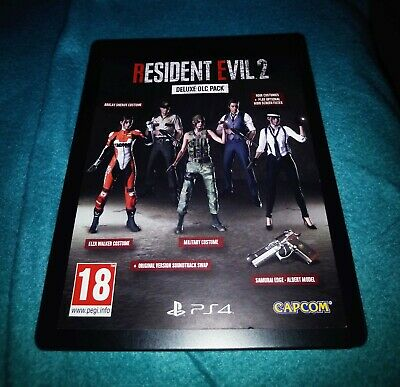 Resident Evil 2 Remake Deluxe DLC Pack for PS4 EUROPEAN ACCOUNTS