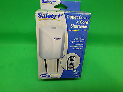 Safety 1st Outlet Cover & Cord Shortener