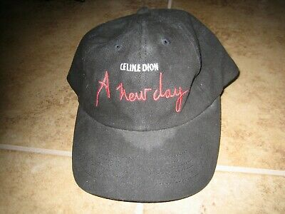 Celine Dion - A New Day Tour Baseball Hat Cap Adult One Size Concert